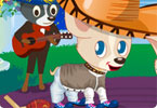 Play Celebrity Dog Dressup Game