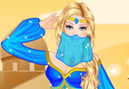 Play Barbie Arabic Princess Dress Up Game