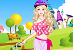Play Barbie Bike Ride Dress Up Game
