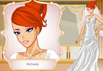 Play Silver Bride Makeover Game