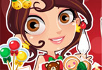 Play Cute Baker Cookies Game