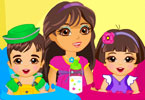 Play Twins Babysitter Game