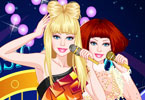 Play Barbie Gaga Style Dress Up Game