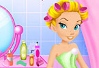 Tinker Bell Facial Makeover