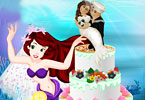 Play Mermaid Wedding Cake Game