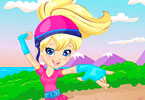 Play Polly on Roller Skates Game