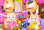 Play The Baby Care Game