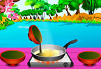 Play Cooked Rice Recipe Game