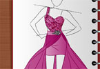 Play Fashion Studio Prom Dress Design Game
