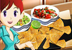 Play Sara Cooking Class Nachos and Dips Game