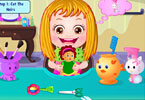 Play Baby Hazel Hair Care Game