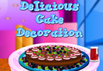 Play Delicious Cake Decoration Game