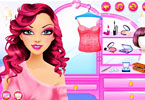 Play Professional Makeup Glittery Pink Game