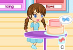 Play Bella Cake Decoration Shop Game