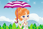 Play Polly in the Rain Game