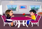 Play Restaurant Love Fun Game
