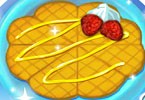 Play Caramel Waffles Game