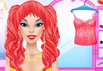 Play Fabulous Hair Curls Makeover Game