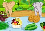 Feed The Baby Elephants