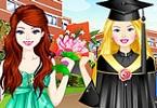 Barbi and Ellie Graduation Day Prep