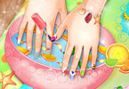 Play Summer Nails Spa Game