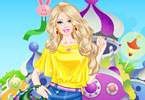 Play Barbie at the Water Park Dress Up Game
