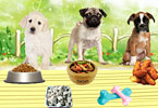 Play Puppies Meal Time Game