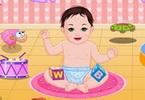 Sweet Baby Bathing