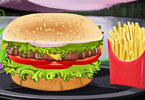 Play Salsa Chicken Burger Game