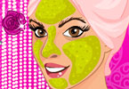 Play Mommy To Be Facial Makeover Game