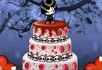Emo Wedding Cake