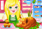 Play Apple Piglet Cooking Show Game