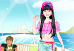 Play Barbie Luxurious Honeymoon Dress Up Game