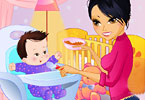 Play Feeding The Baby Game