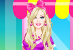 Play Barbie Flower Girl Dress Up Game