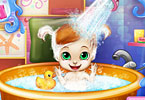 Play Baby Bedtime Bath Game