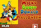 Micky Halloween Coloring