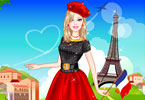 Play Barbie in Paris Dress Up Game
