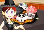 Saras Cooking Class Spooky Cupcakes