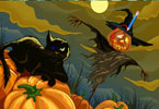 Play Halloween Differences Game