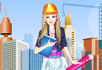 Play Barbie Architect Dress Up Game