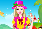 Play Barbie Strawberry Princess Dress Up Game