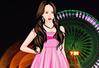 Play Night Walk Dress Up Game