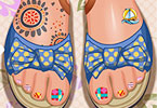Play Toe Nail Design Game
