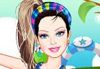 Play Barbie Pilates Dress Up Game