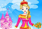 Play Princess In Pink Dress Up Game
