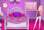 Play Barbie Bedroom Decoration Game