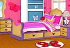 Play Butterfly Bedroom Game