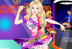 Play Barbie Rock Diva Dress Up Game