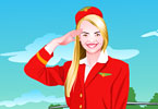 Play Air Hostess Mia Dressup Game